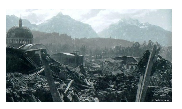 Huaraz, donde una vez estuvo el cine.