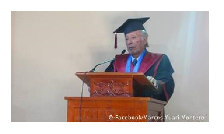 Marcos Yauri, novelista ancashino, huaracino.
